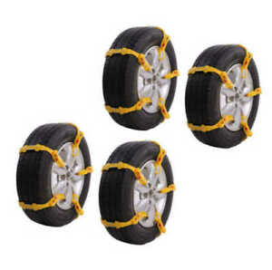 New 20pcs Emergency Thickening Ice Snow Anti Skid Tire Chains Slip For Car Suv