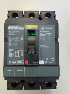New Square D Hdl36150 150 Amp Molded Case Circuit Breaker Free Ship