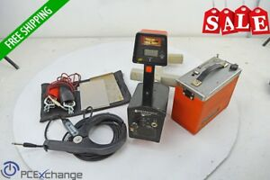 Metrotech 810 Receiver Transmitter Pipe Cable Line Locator Fault Testing Units