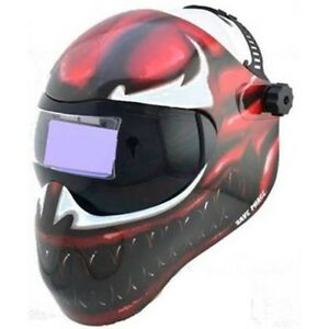 New Save Phace Efp f Series Welding Helmet Marvel Carnage 4 10 Adf Lens