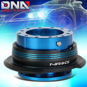 Nrg Srk 290bl Bk Bl Steering Wheel Quick Release Gen 2 9 Blue Body Black Ring