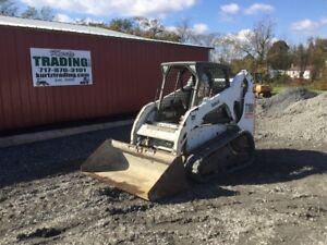 2011 Bobcat T190 Tracked Skid Steer Loader W Only 900hrs Coming Soon