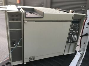 Hewlett Packard Hp 5890 Gc Gas Chromatograph