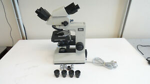 M9 nikon Labophot Microscope With 4 Objectives And 4 Eyepieces