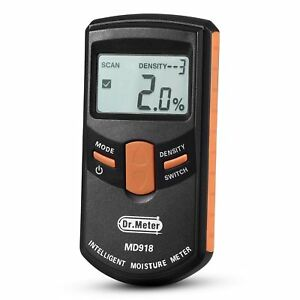 Pinless Wood Moisture Meter Dr meter Upgraded Inductive Pinless Tools