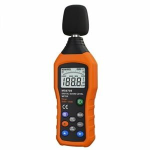 Vlike Noise Sound Level Meter Digital Decibel Meter With Lcd Audio Measurement