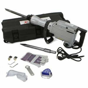 Xtremepowerus Heavy Duty Electric 2200 Watt Demolition Jack Hammer Concrete