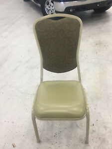 Banquet Stack Chairs Heavy Duty Slightly Used Comfortable 2 5 Inch Padding