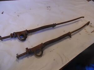 1949 Farmall C Farm Tractor Cultivator Rear Gang Lift Arms