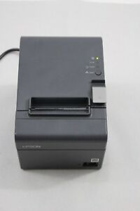 Epson Tm t20 Point Of Sale Thermal Printer Model M249a With Power Cord And Roll
