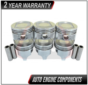 Piston Set Fits Jeep Wagoneer Grand Cherokee Comanche 4 0l Size 040