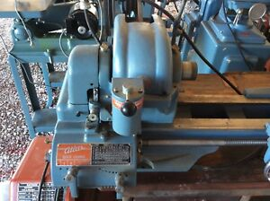 Atlas Qc 54 Lathe With Quick Change Gearbox