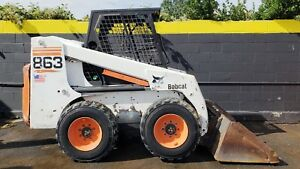 Bobcat 863 Skid Steer Wheel Loader Deutz Diesel 2507hrs Ready 2 Work Today