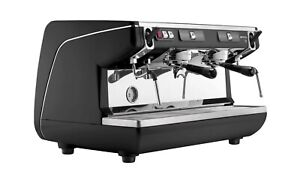 Simonelli Appia Semi Auto 2 Group Espresso Machine Red Panels Used 1 Month