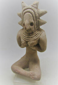 Finest Circa 2200 1800bce Ancient Indus Valley Terracotta Seated Fertility Idol