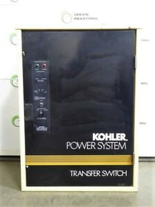 Used 100 Amp Kohler Three Phase Automatic Transfer Switch Gls 166431 0100