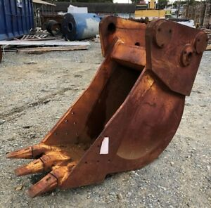 Gannon Mfg Co 3 Tooth 20 Trench Dig Excavator Bucket Ditching Rock Can Ship