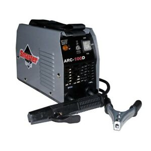 Smarter Tools Ac Stick Welder 120 volt 100 Amps Two Stage Switch Easy Control