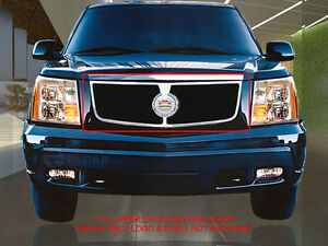 Fedar Fits 2002 2006 Cadillac Escalade Black Replacement Wire Mesh Grille Insert