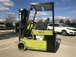 1994 Clark 4000 Pound Budget Forklift we Will Ship Compact tight Turning Radius