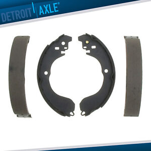 Rear Ceramic Brake Shoes For Sebring Caliber Compass Patriot Cube Sentra Versa