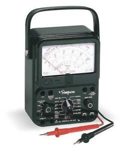 New Simpson Electric 260 8 Analog Multimeter New