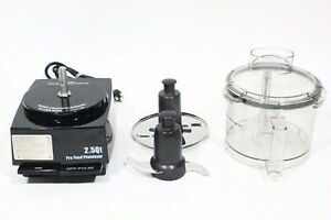 Brand New Waring 2 5 Quart 3 4 Hp Commercial Food Processor Model No Wfp11sw