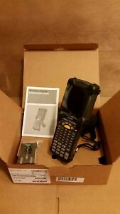 Symbol Motorola Zebra Mc92n0 g90sxeya5wr Wireless Barcode Scanner new