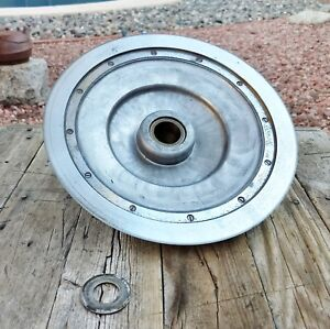 Vintage Globe Meat Slicer Model 75 Ring Blade And Center Plate Support Assembly