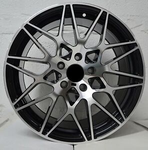 Set Of 4 Wheels 18 Inch Black Machined Rims Fits Acura Mdx