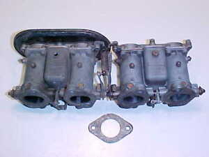 Porsche 356 Engine Solex Carburetorpair 40 P11 4 Carburetors912oem