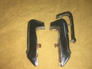 1968 1969 Dodge Coronet Front Bumper Guards Front R T Super Bee 500