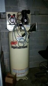 Ingersoll Rand 3 Hp 60 Gallon Electric Air Compressor 230v
