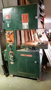 Powermatic Model 87 Vertical Metal Cutting Bandsaw With Welder grind