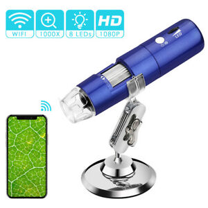 Wireless Digital Microscope 50x To 1000x Microscope Magnification With Hd 1080p