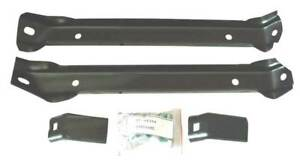 67 70 Chevy Gmc C10 2wd Truck Front Bumper Support Brace Mounting Brackets