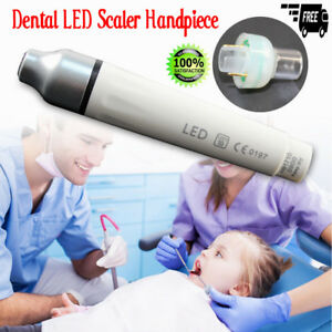 Usa Dental Led Light Ultrasonic Piezo Scaler Handpiece For Woodpecker Ems Tips