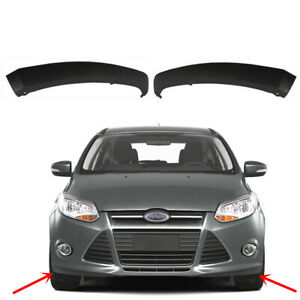 Fit Ford Focus 2012 2013 2014 Front Bumper Lower Wing Spoiler Lip Trim Style L r