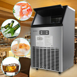 Countertop Contained Undercounter 5 Accessories Com Ercial Ice Maker 115v
