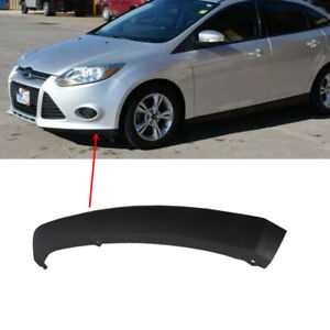 Fit Ford Focus 2012 2013 2014 Front Bumper Lower Spoiler Lip Trim Left Driver