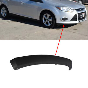 Fit Ford Focus 2012 2013 2014 Front Bumper Lower Spoiler Lip Trim Rh Passenger