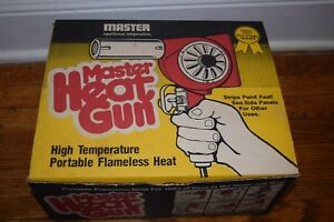 Master Appliance Heat Gun Model 499 14 Amps Neat In Original Box