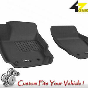 3d Fits 2007 2016 Volvo S80 G3ac10829 Black Waterproof Front Car Parts For Sale