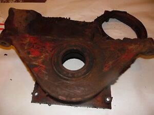 1950 Farmall Md Diesel Farm Tractor Timing Cover
