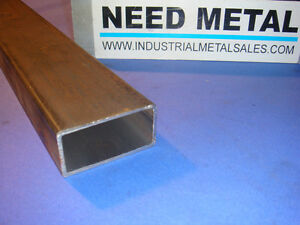 2 X 4 X 48 long X 1 8 Wall Steel Rectangle Tube 2 X 4 X 125 Box Tube