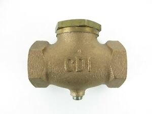 Cdi 1 Fpt Inlet Control Devices Cb10 Brass Check Valve