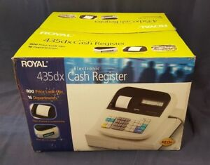 Royal 435dx Cash Register Mint Condition Never Used In Box Complete