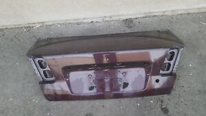 01 02 03 04 05 2001 2002 2003 2004 2005 Honda Civic Trunk Lid Tail Gate Trunklid