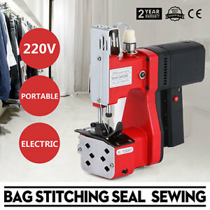 220v Industrial Bag Stitching Closer Seal Sewing Machine Portable Electric Tool