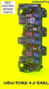 New 1 Ford Ranger Explorer 4 0 Ohv Early Cylinder Head Reman Parts 1990 1995